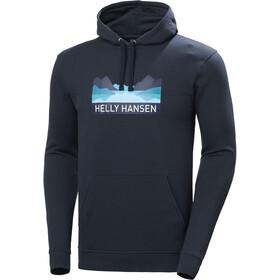 Helly Hansen Nord Graphic Hættetrøje Herrer, blå